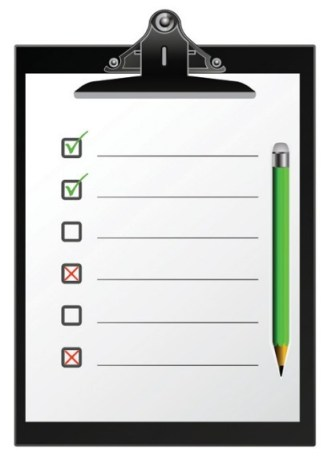 Checklist Clipboard Template Vector 01