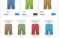 Clean E-Commerce Web UI Kit PSD