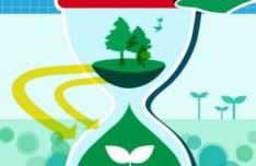 ECO & Green Energy Concept Vector Illustration 03