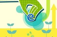 ECO & Green Energy Concept Vector Illustration 06