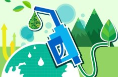 ECO & Green Energy Concept Vector Illustration 07