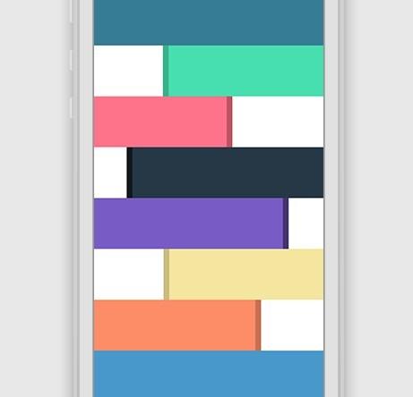 Flat Design Color Palette PSD