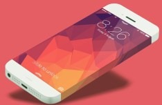 iPhone 6 Infinity PSD Template