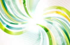 Blue and Green Abstract Vector Background 04