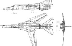 Vector MiG-27 Fighter Aircraft Perspective