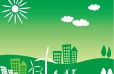 Green Earth Concept Vector Illustration 03