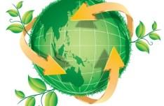 Blue Planet Green Earth Concept Illustration Vector 08