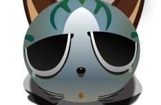 Cute 3D Cartoon Cat Vector 01