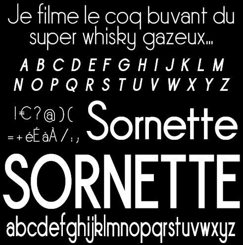 Sornette Font