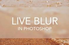 Live Blur PSD