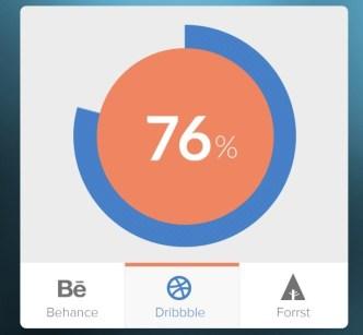 Data Badge Interface PSD