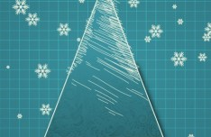 Creative Christmas Tree Design Elements Vector 01