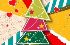 Creative Christmas Tree Design Elements Vector 03