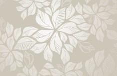 Light Gold Leaves Background Vector