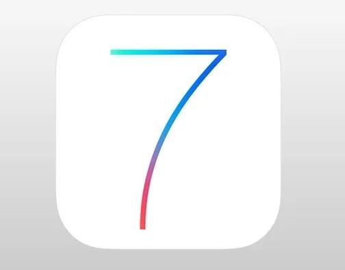 iOS 7 Logo PSD