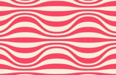 Abstract Pink Waves Background Vector