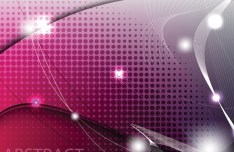 Gorgeous Bright Abstract Waves Background Vector 02