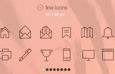 32+ iOS 7 Tab Bar Icons PSD