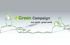 Green ECO World Campaign Green Earth Vector 02