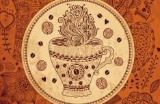Vector Vintage Menu Cover For Cafe 04