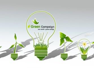 Green ECO World Campaign Green Energy Vector 03