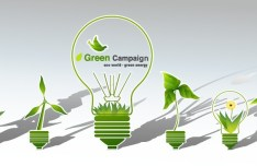 Green ECO World Campaign Green Energy Vector 03