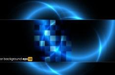 HI-Tech Abstract Digital Background Vector 01