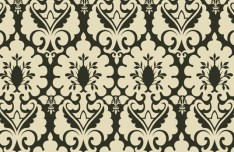 Seamless Classical Pattern Background Vector 03