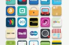 33 E-Commerce Icon Set (Multi Formats)