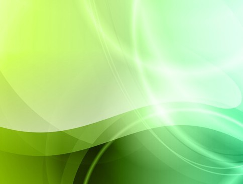 Fresh Green Abstract Background Vector 01