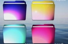 7 Halo Themed Folder Icons