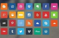 Soft Social Media Icons Pack