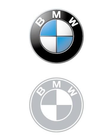 Minimal BMW Logo Vector