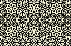 Seamless Floral Ornamental Pattern Vector 02