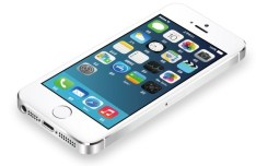 iPhone 5S with iOS 7 Template Vector