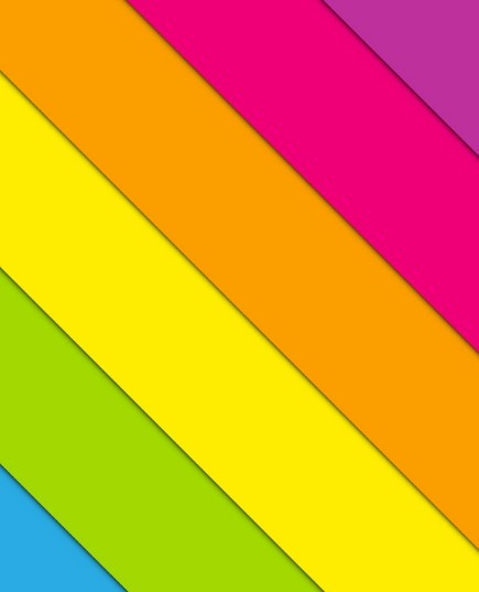Clean Colorful Stripe Background Vector