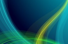 Colorful Abstract Lines & Waves Background Vector 02