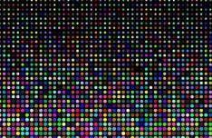 Colorful Polka Dot Background Vector