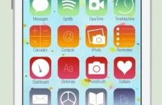iOS 7 Styled Mac OS Icons