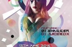 Dubstep & Dance Club Flyer Templates PSD