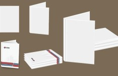 Blank Picture Album Template Vector