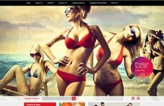 Fashionpress Corporate & E-commerce Website Template PSD