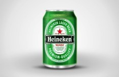Realistic Heineken Beer