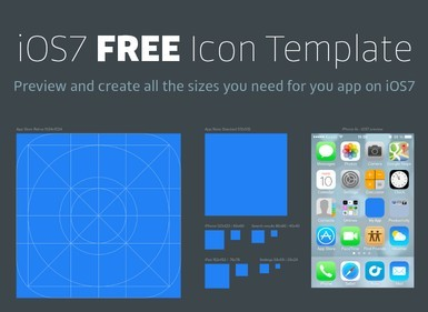 Free ios 7 icon blueprint template psd titanui ios7 icon bluepring template psd a ios 7 icon blueprint malvernweather Image collections