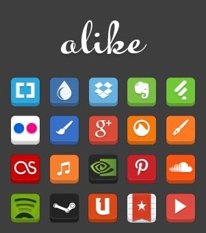 alike Popular App Icons SVG Vector