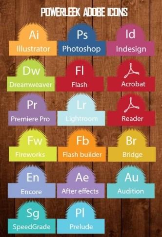 PowerLeek's Adobe Product Icons
