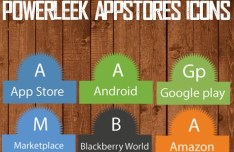 PowerLeek's App Stores Icons