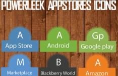 PowerLeek's App Stores Icons