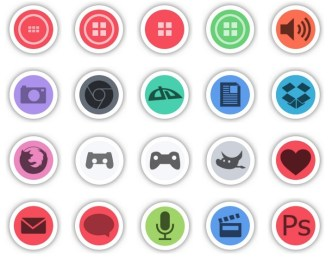 Titulus Round Web Icons Pack