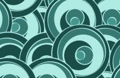 Simple Vintage Swirl Pattern Vector 01